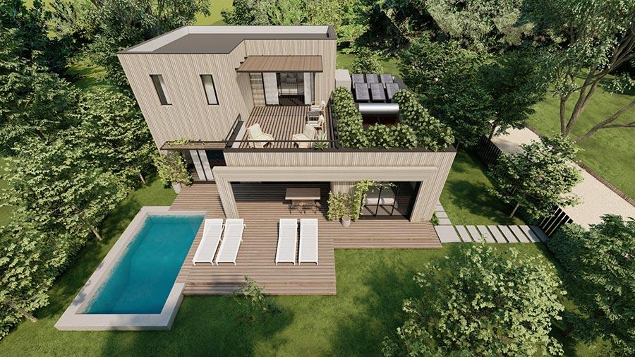 Villa Exterior 4